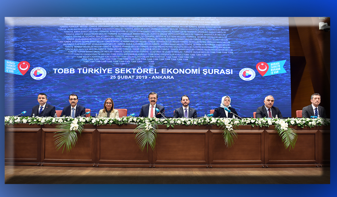 TOBB Turkey Sectoral Economy Summit, was held with the participation of seven ministers